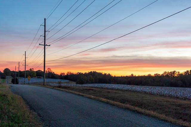 Autumn Sunset In Limestone County