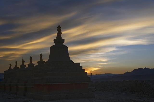 The Stupas of Tholing, Tibet 2019
