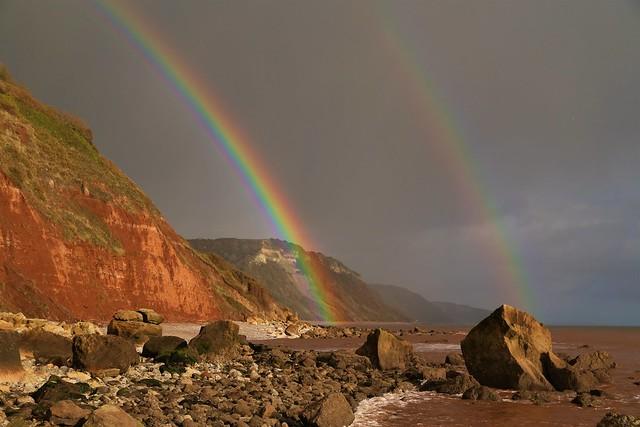 East Devon rainbow