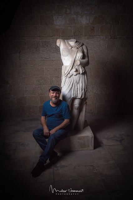 Mustafa Ali - Syrian sculptor