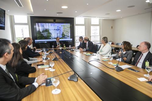 Visita da Câmara Ítalo Brasileira