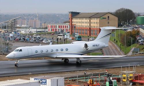 n818lf gulfstreamg550 g550 aviation bizjet aircraft american us 5311 lfgaviation2inc luton bedfordshire england unitedkingdom uk londonlutonairport ltn eggw canoneos750d