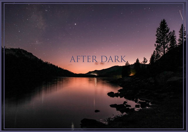 Night at Yosimite National Park
