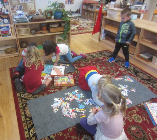 Stone Soup game & children from around the world puzzle