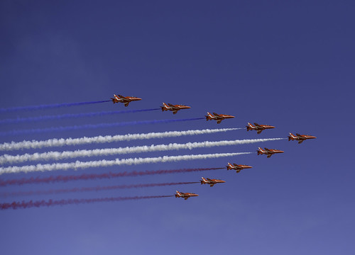 Red Arrows Start the Show