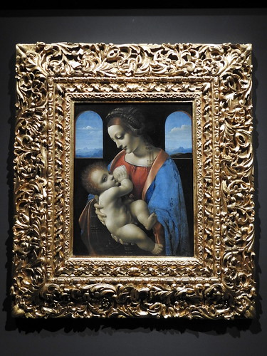 Milano - Museo Poldi Pezzoli - La Madonna Litta