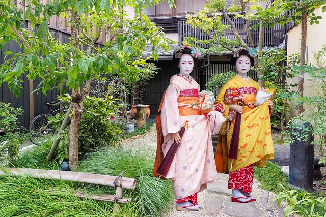 FX Traditional house and Maiko Kyoto