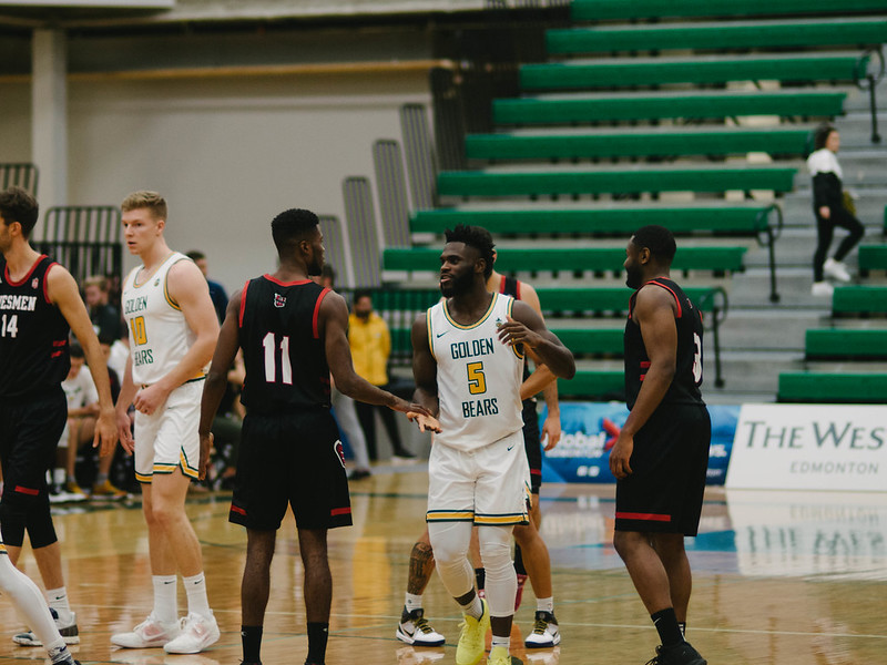 Golden Bears' basketball November 8 th 2019 Nana Andoh