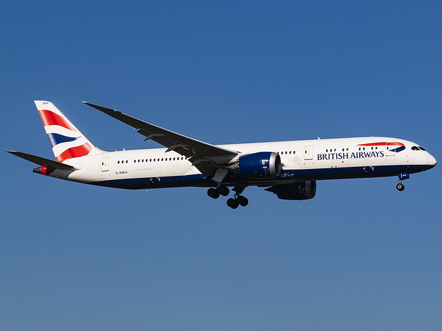 British Airways | Boeing 787-9 Dreamliner | G-ZBKH
