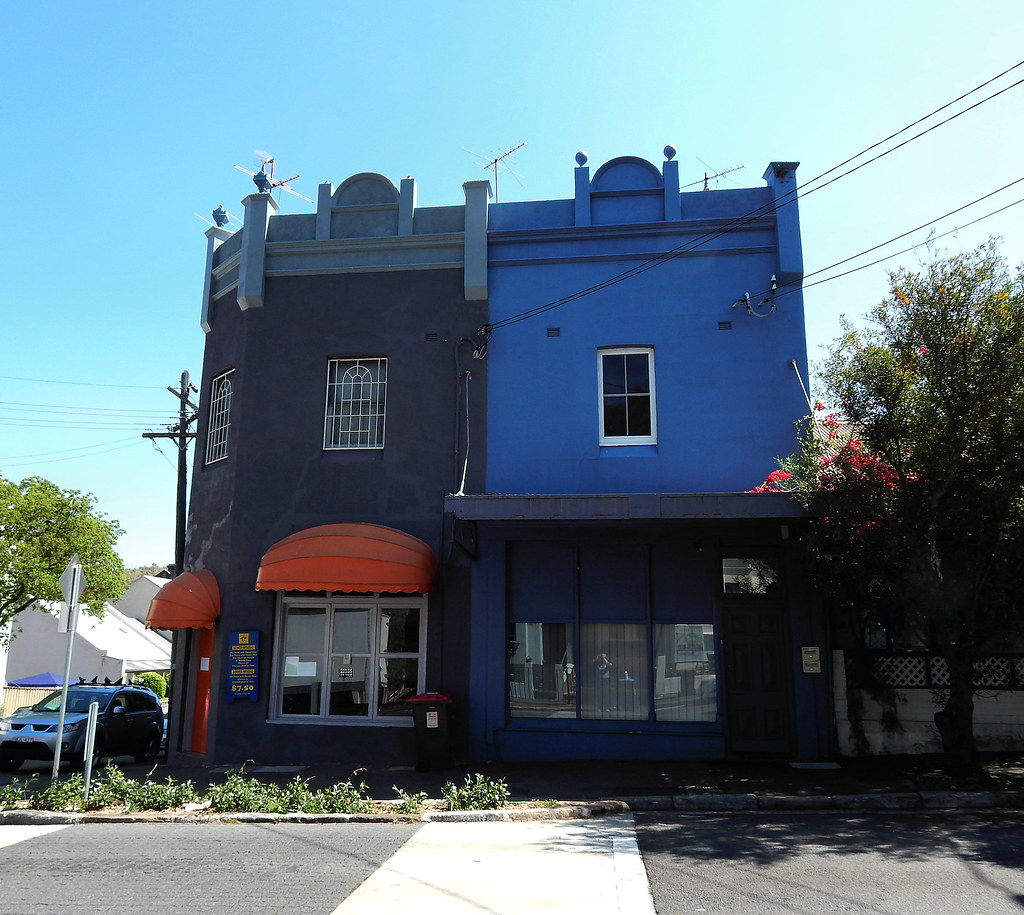 Former Shops, Rozelle, Sydney, NSW.