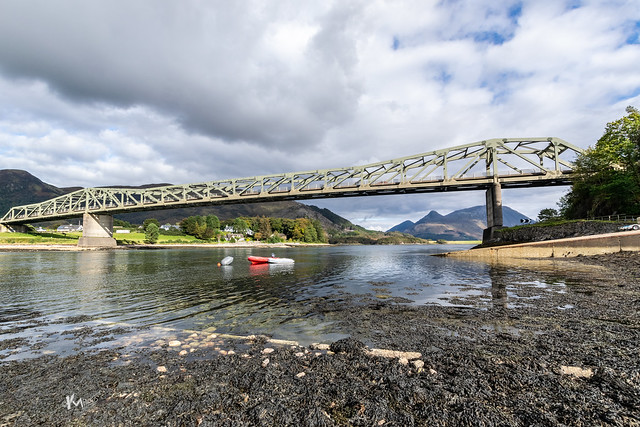 Balachulish Bridge and Pap of Glencoe