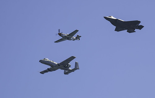Great Pacific Air Show Heritage Flight