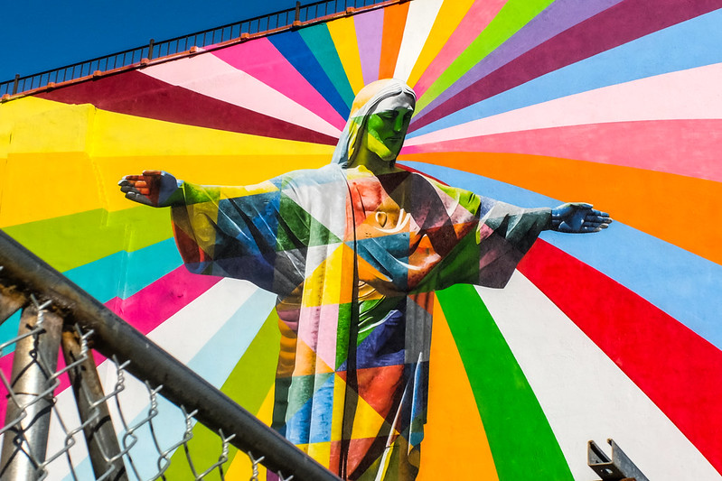 Walk In New York - Brooklyn - Bedford–Stuyvesant - Eduardo Kobra - Christ Redeemer (4)