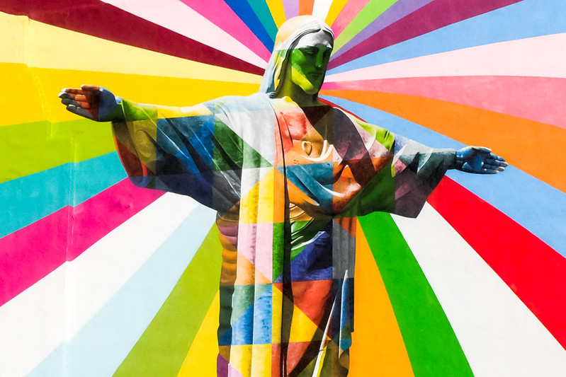 Walk In New York - Brooklyn - Bedford–Stuyvesant - Eduardo Kobra - Christ Redeemer (2)