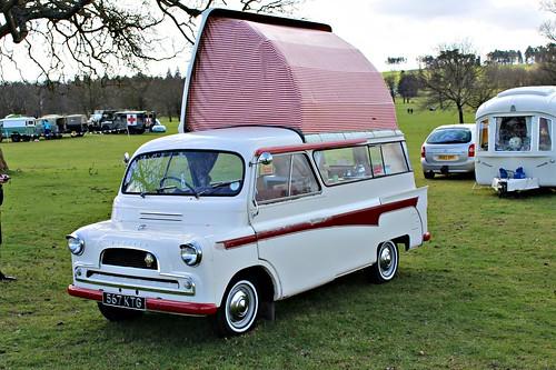 bedford british 1960s van camper rv dormobile bedfordca weston weston2016 567kgt
