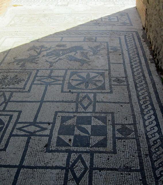 Pompeii - mosaic floor