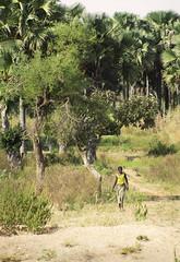 A local villager at Nabanga North.
