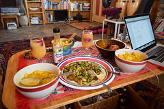 Vegetarian Meal at House in Joshua Tree area