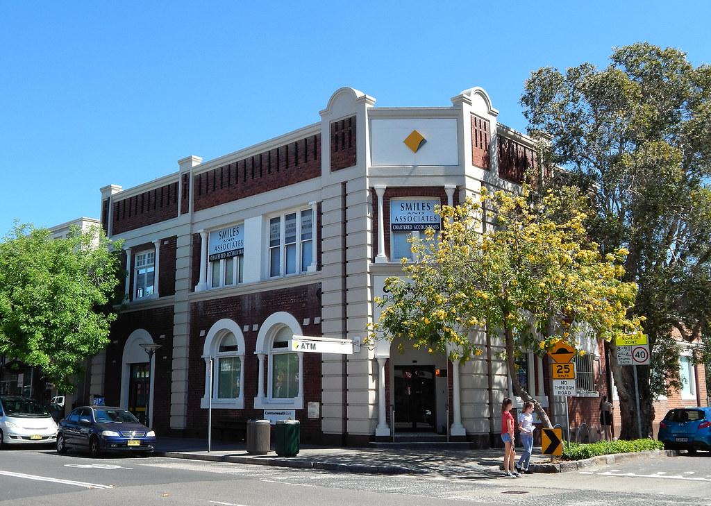Commonwealth Bank, Rozelle, Sydney, NSW.