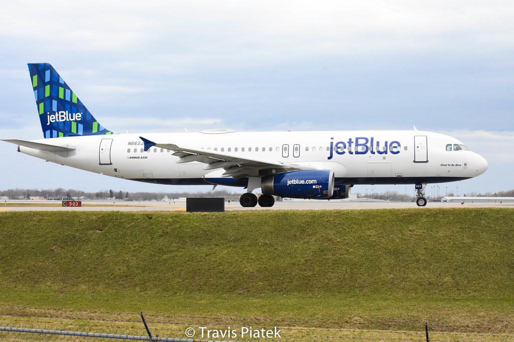 JetBlue Airways - Airbus A320-232 N662JB @ Buffalo Niagara