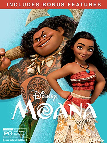 Moana (2016) (With Bonus Content)