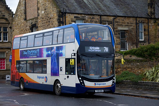 Stagecoach East Scotland 11191 YX19OUS