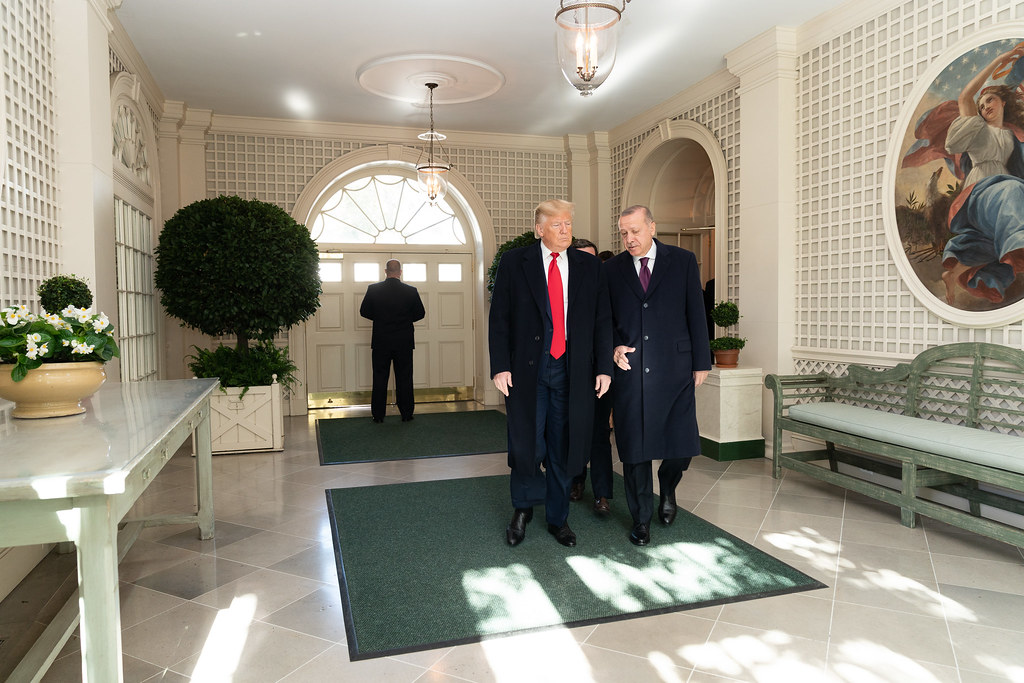 President Trump Meets with the President of Turkey