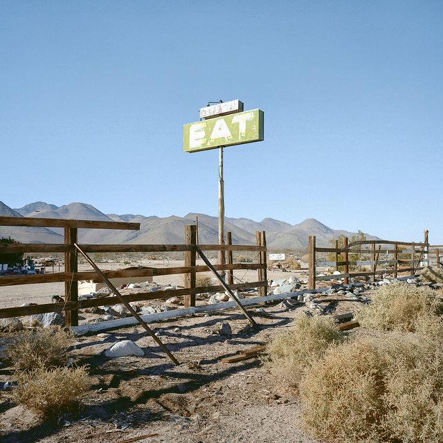 eat. mojave desert, ca. 2012.