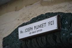 Kilmainham Gaol. Celda de Joseph Plunkett