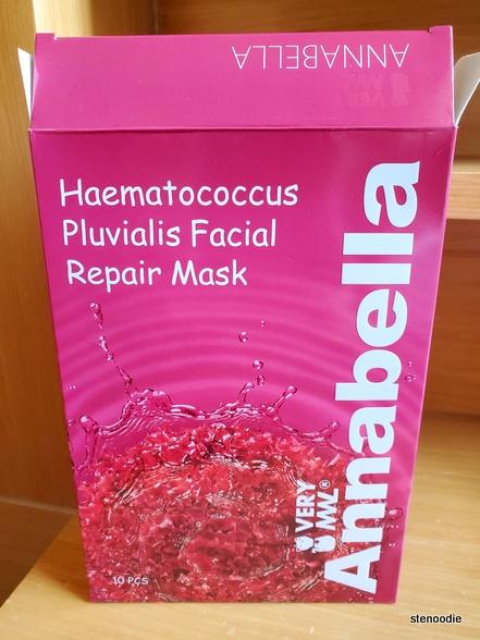 Annabella Haematococcus Pluvialis Facial Repair Mask