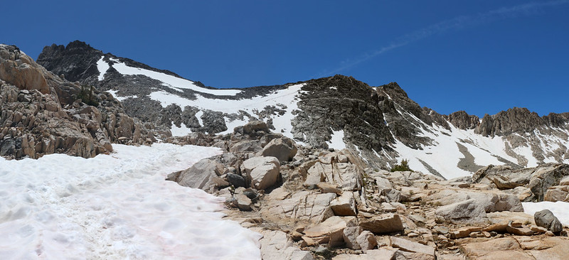 Looking south toward Glen Pass on the JMT