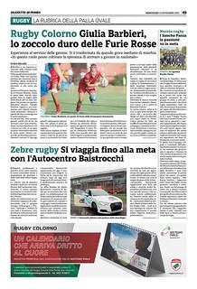 Gazzetta di Parma 13.11.19 - pag 57