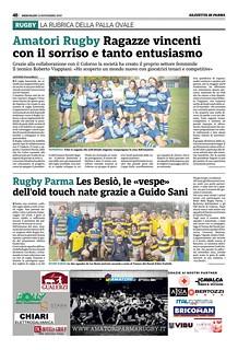 Gazzetta di Parma 13.11.19 - pag 56