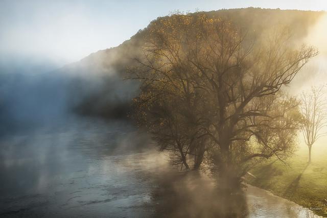 La Dordogne à Castelnaud