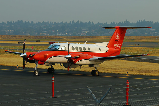 Fire Mapping King Air