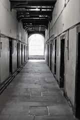 Kilmainham Gaol. Corredor