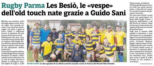 Gazzetta di Parma 13.11.19 - Les Besiò