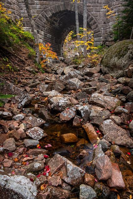 Acadia Carriage Trails Hadlock Bridge
