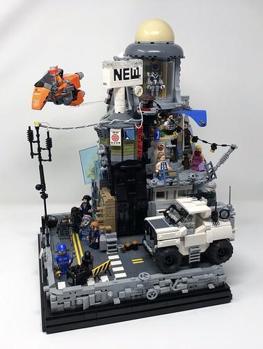 Cyberpunk City MOC