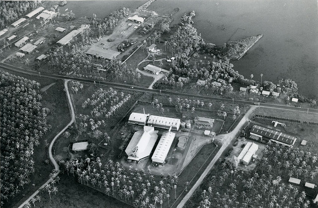 WESTERN SAMOA: Aerial view of Copra Mill
