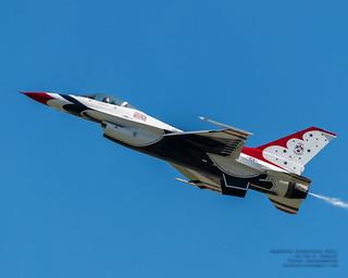 "A Nice Thunderbird #6 ""Mace"" High Alpha Pass"