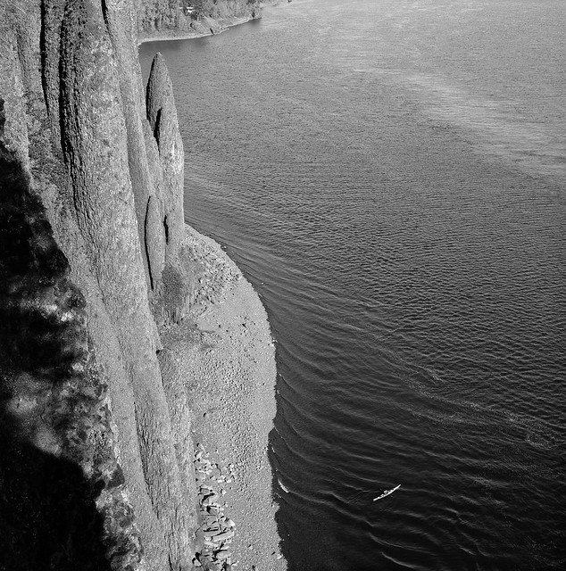 Kayaker, Cape Horn, Columbia River Gorge