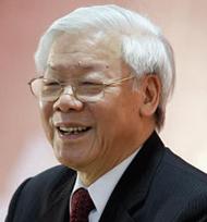 Party General Secretary/President Nguyen Phu Trong