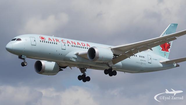 LHR - Air Canada Boeing 787-8 C-FHPT