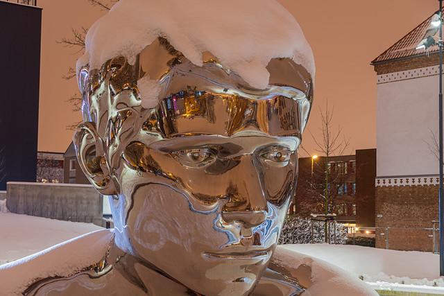 The Genesis sculpture (Sarpsborg, Norway)