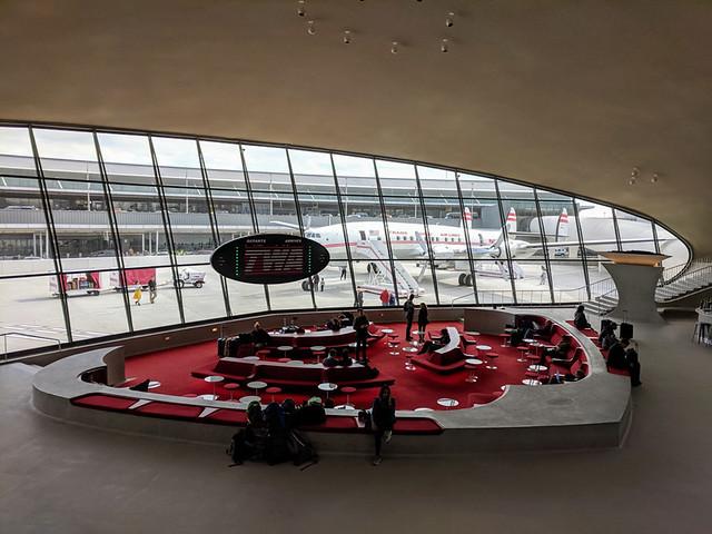 swanky TWA hotel (Terminal 5 @ JFK)