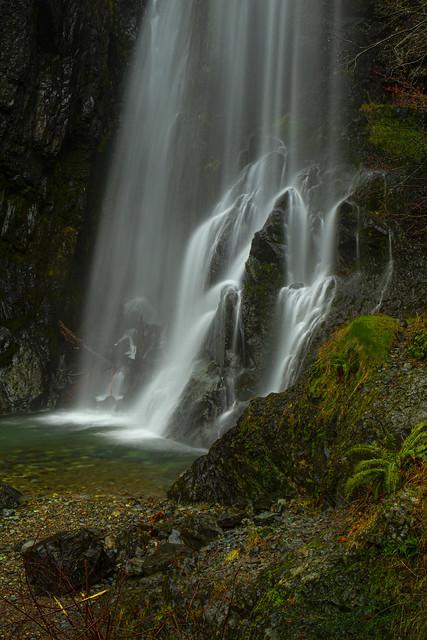 Henline Falls in the Opal Creek Wilderness