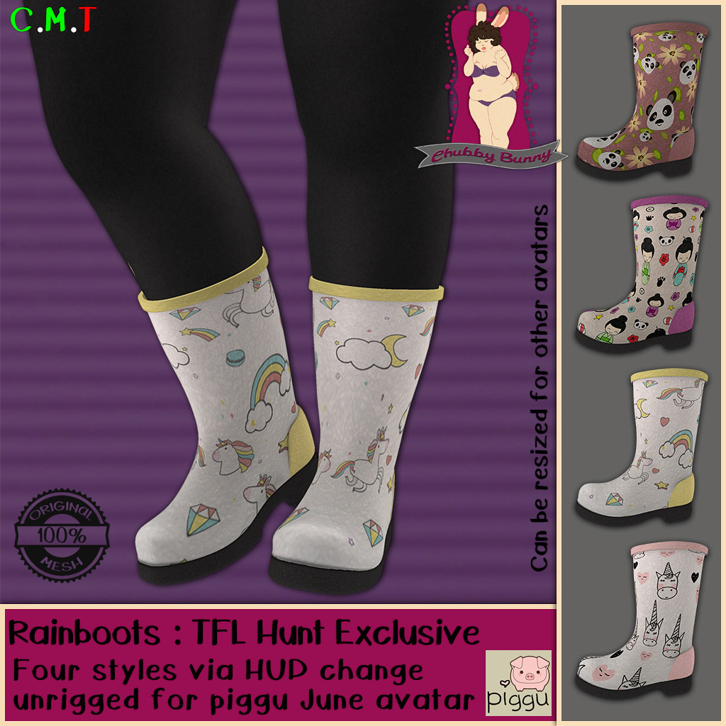 CB Rainboots TFL Hunt Exclusive