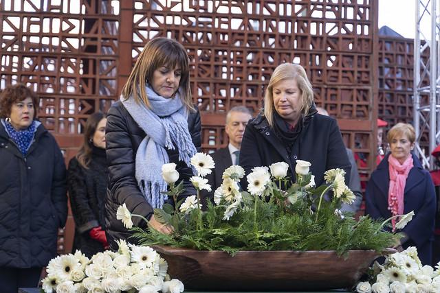 Los Socialistas Vascos en el Día de la Memoria