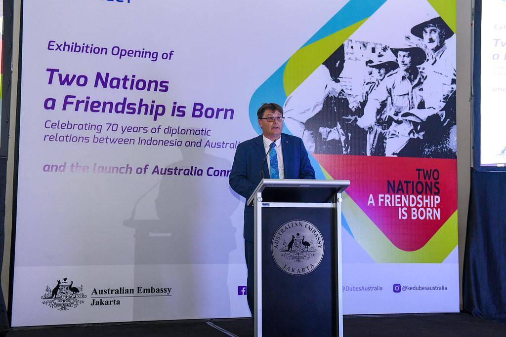 Pameran Baru Memulai Selebrasi Australia Connect